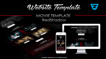 Movie Template - RedShadow