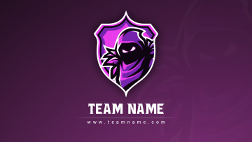Raven Esport Clan Logo - Graphic Design