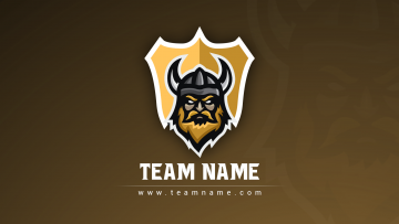 Viking Esport Clan Logo - Graphic Design