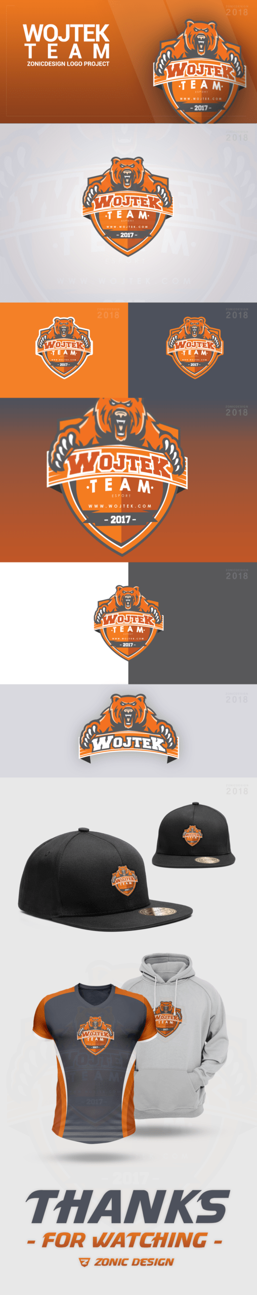 Wojtek Mascot Clan Logo Presentation